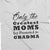 Only the Greatest Moms get Promoted to Grandma_Pregnancy Announcement short sleeve Graphic T-Shirt_white color at TeeLikeYours.com