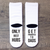 Only the best Hubs get promoted to Dads. Pregnancy Announcement to Husband. Funny Socks for New Father. Cool Pregnancy Announcement gift at TeeLikeYours_com