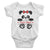 Panda Custom Name Short Sleeve White Color Infant Onepiece T-shirt by TeeLikeYours.com