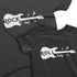 Rock and_Roll Baby - Short Sleeve Graphic Matching T-Shirts for Grandpa / Father and Children
