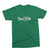 Team Work_Fishing Graphic Matching T-Shirts_short sleeve_Kelly Green color at TeeLikeYours.com