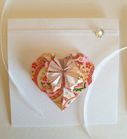 Origami Online Workshop Part5:  Valentine's Day Geometric Heart Card and Washi Paper Gift Box Making with Alice Stern