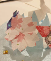 Origami Part 7:  Easter Bonnet making with origami butterfly, rabbit & cherry blossom flowers with Alice Stern