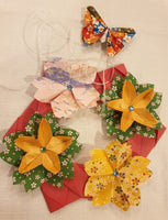 Origami Online Workshop Part 6:  Mother's Day Flower Wreath Making with Alice Stern