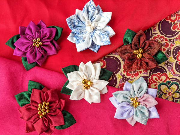 Kanzashi Flowers Online Workshop Tickets