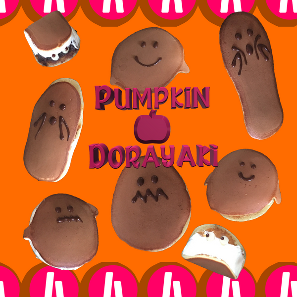 Online Japanese Cooking Workshop (HALLOWEEN DORAYAKI WITH PUMPKIN AN) Tickets