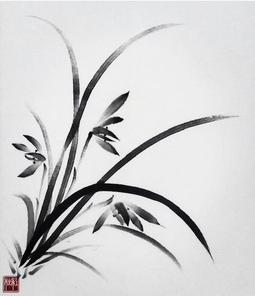 Sumi-e (Japanese ink painting) Workshop Part3 with Akemi Lucas Online Tickets