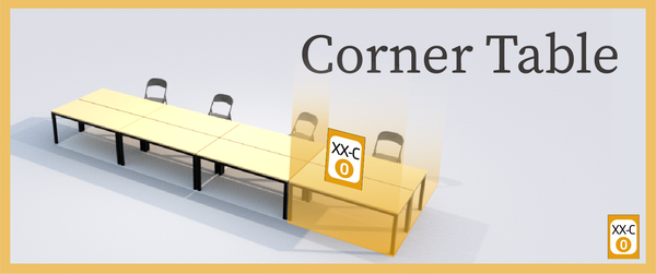 Corner Table (T&C)