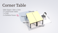 Corner Table (G&A)