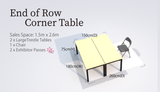 End of Row Corner Table (G&A)