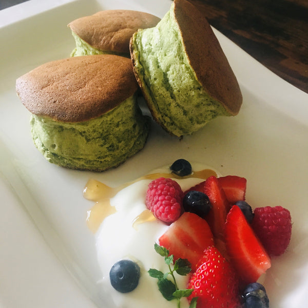 Online Japanese Cooking Workshop Part1 (Matcha Soufflé Pancake) Tickets
