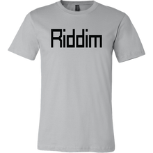 Load image into Gallery viewer, Men's Riddim T-Shirt Black Text