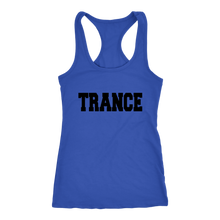 Load image into Gallery viewer, women's blue trance EDM tank top t-shirt