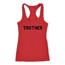Load image into Gallery viewer, Women's Truther T Shirt - Black Text