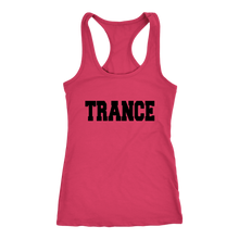 Load image into Gallery viewer, women's hot pink trance EDM tank top t-shirt