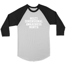Load image into Gallery viewer, Unisex Multi-dimensional Awareness Month T-Shirt