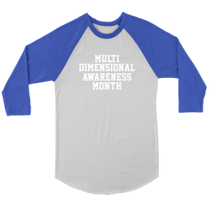 Unisex Multi-dimensional Awareness Month T-Shirt