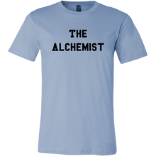 Load image into Gallery viewer, men's light blue the alchemist t-shirt