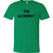 Load image into Gallery viewer, men's heather green the alchemist t-shirt