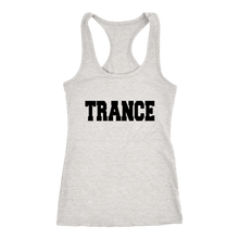 Load image into Gallery viewer, women's heather gray white EDM trance tank top t-shirt