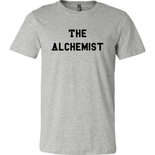 Load image into Gallery viewer, men's heather gray the alchemist t-shirt