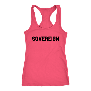 Women's Sovereign T Shirt - Black Text