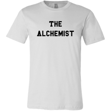 Load image into Gallery viewer, men's white the alchemist t-shirt