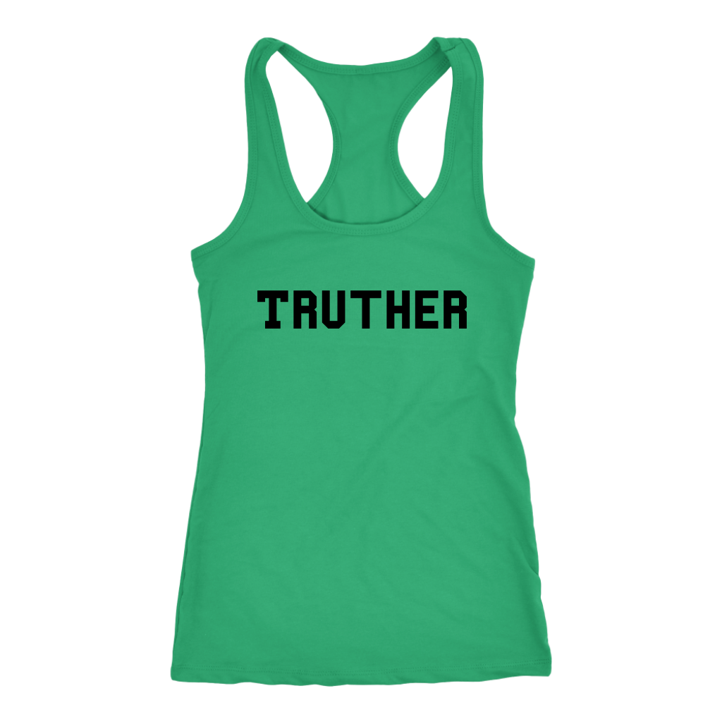 Women's Truther T Shirt - Black Text