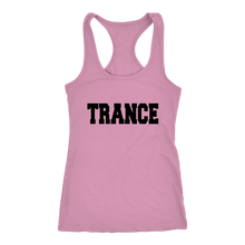 Load image into Gallery viewer, women's pink trance EDM tank top t-shirt