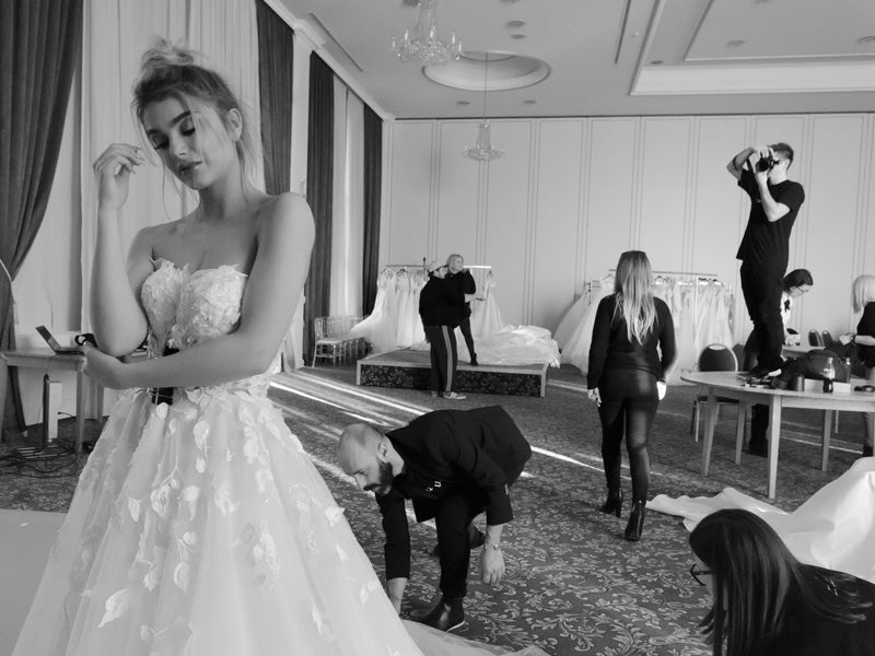 Making of Bridal Collection 2018