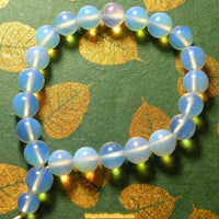 Mala wrist glass opaline way.