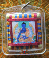 Yantra Amulet of the Medicine Buddha