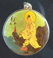 Ancient medal of Guan Yin - 80 years