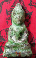 Statuette of the Buddha in alchemical glass