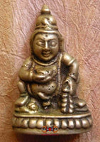 Tokchag amulet of Jambhalla (wealth Buddha)
