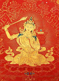 Manjushri mantra amulet - for studies and memory