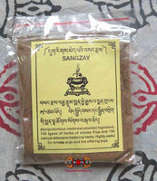 Sangzay (Sacred Powder for Smoke Offering)