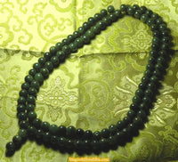 Grote mala in Chinese jade.