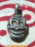 Mala forceps (mantra counter) - Citipati tantric skull.