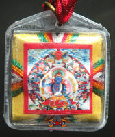 Bönpo Yantra Amulet of Drenpa Namkha - Spreads astrological obstacles and bad influences.
