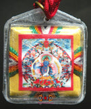 Bönpo Yantra amulet of Tönpa Shenrab - Spreads obstacles and bad astrological influences
