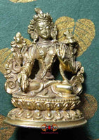 Statuette of white Tara.