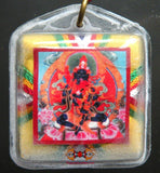 Yantra Bönpo amulet from Drenpa Namkha - For long life + protects against ghosts.