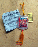 Bönpo Yantra amulet by Shérab Chama - Protection against road accidents.