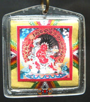 Powerful Yantra Bönpo amulet from Tagla Membar - Protection against black magic.