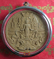 Phra Harm Samot Great Amulet (Monday Buddha) - Venerable LP Udhom Pawanna Pirat