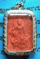 Chinese Amulet of Guan Yin and Kubéra.