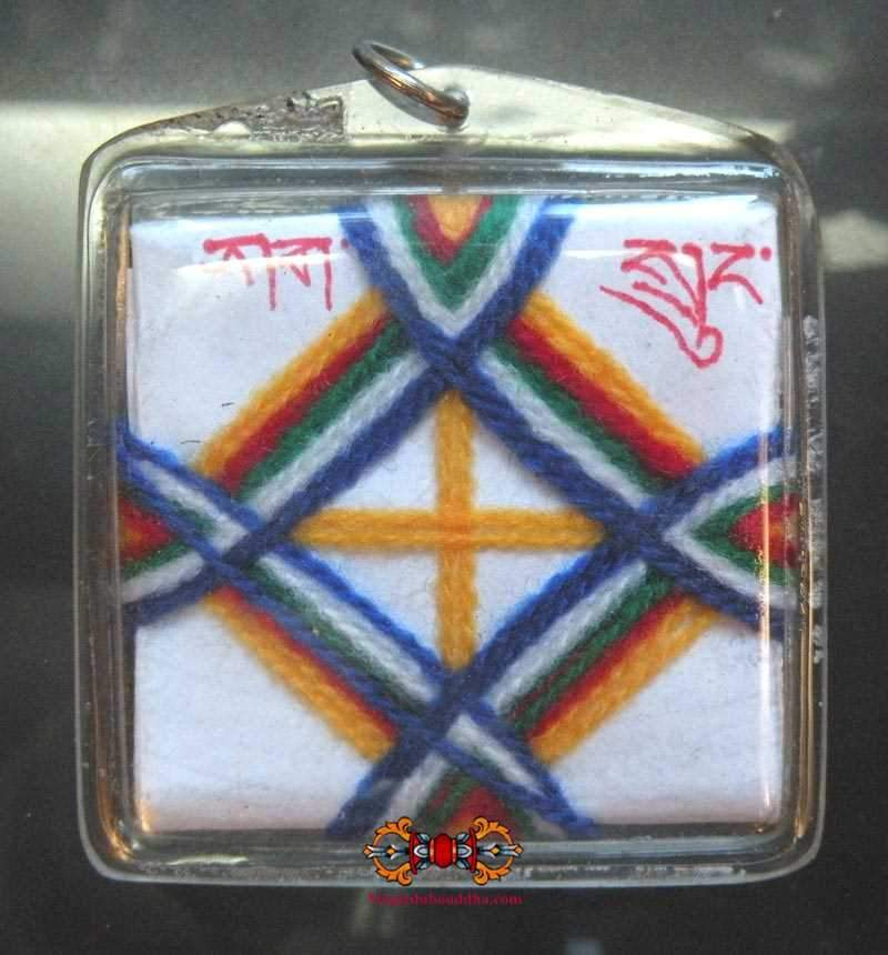 Lama Tséring Wangdu's Yantra Amulet - Protection from nightmares.