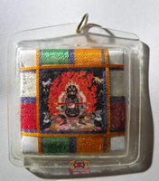 Big Yantra amulet of black Mahakala - His Holiness Sakya Trizin.