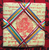 Yantra Amulet of the Lion Faced Dakini Sengue Dongma.